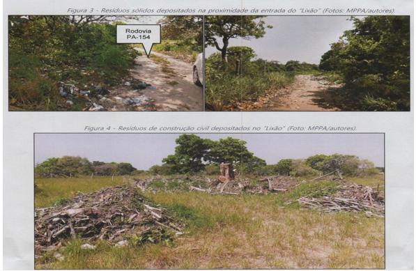 Lixão de Joanes recebe resíduos de maneira inapropriada