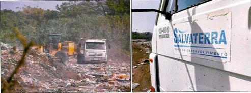 Lixão de Salvaterra recebe resíduos de maneira inapropriada