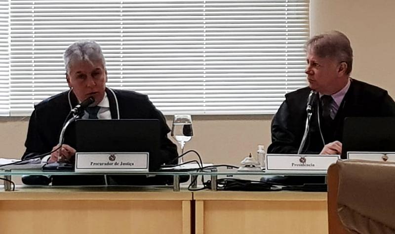 Procurador-geral Gilberto Martins faz sustentação oral durante sessão no TJPA